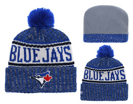 $enCountryForm.capitalKeyWord Australia - 2018 New Sport 6 Colors Baseball Skullies Hat Pom Toronto Cuffed Knitted Hats With Embroidered Team Logo Fans Fashion Winter Women Beanies