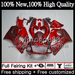 $enCountryForm.capitalKeyWord NZ - Body GSXR-600 For SUZUKI SRAD GSXR600 GSXR750 96 97 98 99 00 Red 5HM18 GSXR 600 750 GSX R750 1996 1997 1998 1999 2000 Fairing Bodywork