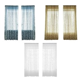 $enCountryForm.capitalKeyWord UK - Polyester Pteris Embroidery Window Curtain Screens Glass Yarn Room Decor