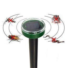 Solar Snake repeller online shopping - Mouse expeller Pet Dog Eco Friendly Solar Power Ultrasonic Gopher Mole Snake Mouse Pest Reject Repeller Snake repeller T1I683
