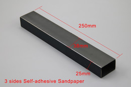 Bass frets online shopping - Guitar Bass Fret Leveling Files With Three Sides Self adhesive Sandpaper Local Sanding Leveler Tool mm