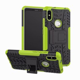 s2 case stand NZ - 5.99inch Phone Cover For Xiaomi Redmi S2 Case Anti-knock Silicone Plastic Armor Cover For Xiaomi Redmi S2 Case with Stand Phone Capa