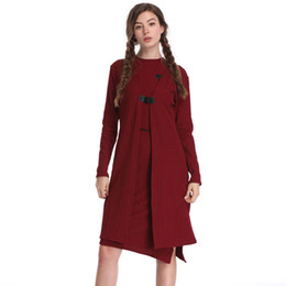 Chinese  The new two-piece slim dress in the long women's 2018 autumn and winter new small fragrance temperament suit skirt manufacturers