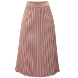 0cdcd1048 Falda Plisada Mujer Gasa Online | Faldas Maxis De Gasa Plisada Mujer ...