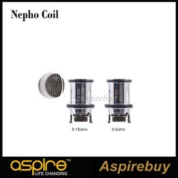 $enCountryForm.capitalKeyWord NZ - Aspire Nepho Coil Replacement Standard 0.5ohm Coils and Innovative Mesh Coil 0.15ohm for Aspire Nepho Tank Dynamo kit 100% Original