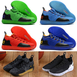 f1dc6d5bbe6f 2019 New KD 11 EP White Orange Foam Pink Paranoid Oreo ICE Basketball Shoes  Original Kevin Durant XI KD11 Mens Trainers Sneakers
