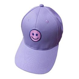 desire  50 Embroidery Cotton Baseball Cap Boys Girls Snapback Hip Hop Flat Hat  boys hip hop baseball cap on sale f5da8af75bf5