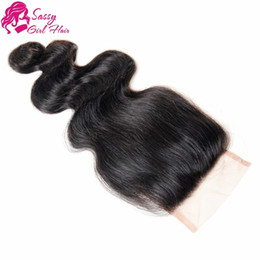 $enCountryForm.capitalKeyWord Australia - Cheap Lace Closure 4x4 Body Wave Malaysian Virgin Human Hair Top Lace Closures Pieces With Bleached Knots Free Middle 3 Way Part