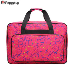 Tote Coolers Australia - Unisex Large Capacity Travel Portable Tote Bag Big Sewing Machine Bags Fashion Men Women Casual Nylon Zipper Large Cool Handbag