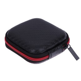 $enCountryForm.capitalKeyWord UK - Mini Portable Earphone Case Storage Carry Bag Earpieces Cables Lines Hard Case Cables SD Cards Headphones Storage Case Bag Box