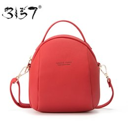 $enCountryForm.capitalKeyWord Australia - 3157 Mini Women Backpacks Casual Shoulder Bags For Girls Backpacks Solid Female Leather Backpack Women Female Crossbody Bags