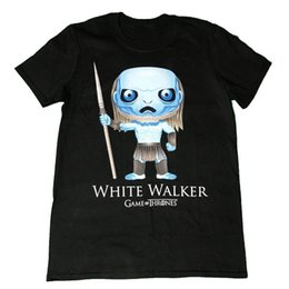 $enCountryForm.capitalKeyWord UK - Game Of Thrones White Walker Pop Art Official Mens T Shirt Comfortable t shirt Casual Short Sleeve Print 100% Cotton Short