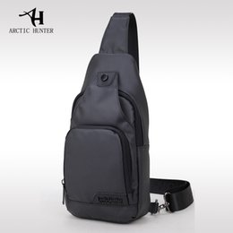 629210dbe7a8 ARCTIC HUNTER Oxford Cloth Fabric Crossbody Bags for Men Messenger Chest Bag  Pack Casual Bag Waterproof Single Shoulder Bag