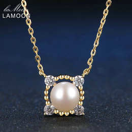 $enCountryForm.capitalKeyWord NZ - LAMOON 8mm 100% Natural Freshwater Pearl Jewelry 925 Sterling Silver Jewelry Pendant Necklace LMNI028Y1882701