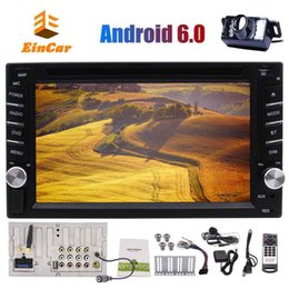 double din dash gps Australia - Eincar Android 6.0 System 6.2'' Car GPS Navigation Stereo Autoradio Wifi Bluetooth Double 2 Din car DVD Player In Dash Autoradio