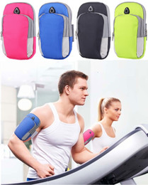 Running band cell phone online shopping - For Iphone X Universal Sports Running Armband Case Workout Armband Holder Pounch Cell Mobile Phone Arm Bag Band for iphone Samsung S9