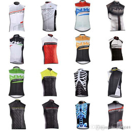 Quick Dry Shirts For Men Australia - NW team Cycling Sleeveless jersey Vest 2018 hot sale men's Outdoor Quick-Dry cycling clothing for summer QXF0819