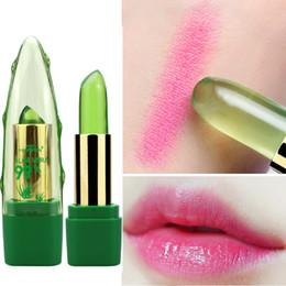 $enCountryForm.capitalKeyWord NZ - 2018 New Batom 99% ALOE VERA Natural Temperature Change Color Jelly Lipstick Long Lasting Moistourizing Lip Makeup
