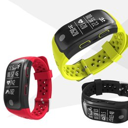 Chinese  S908 GPS Smart Band Waterproof Sports Wristband Multiple sports Heart Rate Monitor Call Reminder free DHL manufacturers