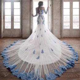 $enCountryForm.capitalKeyWord Canada - Off Shoulder Plus Size Mermaid Evening Dresses 2019 Yousef Aljasmi Long Sleeve Vintage Lace Cheap Arabic African Formal Dresses Evening Wear