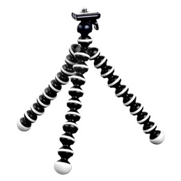 octopus tripod stand 2019 - HONGDAK Octopus Mini Tripod Stand Mount Mobile Phone For GoHero 5 4 3 2 For Session Action Camera Xiaomi Yi cheap octopu