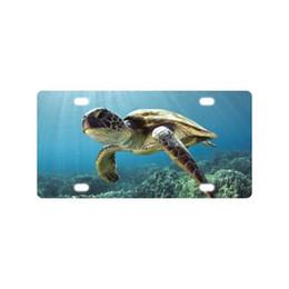 $enCountryForm.capitalKeyWord NZ - Waterproof Sea Turtle Car Plate with HD image (new)