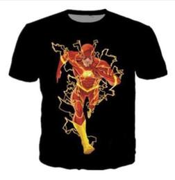Mens Casual Short Sleeve T Shirts Australia - Anime Funny Flash 3D Print Casual T-Shirt Womens Mens Short Sleeve Cartoon T Shirts Summer Quick Dry Tee Shirt Hip Hip Tops Clothing