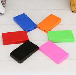 Cigarette stores online shopping - Newest Colorful PP Material Cigarette Cases Store Storage Box High Quality Exclusive Design Moisture proof Anti Fall Deformation Protection