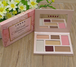 makeup lorac Australia - Hot Sale Lorac pink champagne Holiday Mega PRO Palette Eye Shadow 7Color Makeup pro 3 DHL free shpipping
