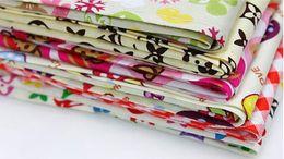 Grooming Towels NZ - 2018 Pet jewelry accessories multicolor cartoon pet saliva towel Pet dog triangular scarf saliva 20pcs lot