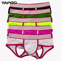 732b7748abcd TAPOO Men's Boxers Soft Pants Boxers Summer Casual Comfortable Breathable  5pcs