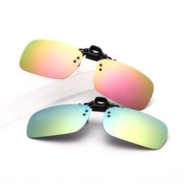 759c6ee87706 Clear polarized driving glasses online shopping - 10 Color New Colorful  Flim Clip Type Men s