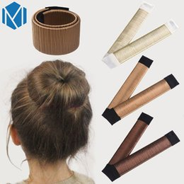 french hair bun accessories 2019 - Kids Girls French Hair Bun Maker Donut Styling Hair Fold Wrap Snap Accessories for Children Curler Roller Quick Dish Hea