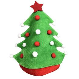 ebd153e82518b Wholesale Elf Hats Australia - Creative Adults Christmas Tree Hats Elf Hat  Party Hats Caps Dress