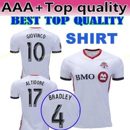 2018 2019 MLS FC Toronto Jersey Men Soccer 4 BRADLEY 10 GIOVINCO 17  ALTIDORE 21 OSORIO 5 MORGAN Football Shirt Kit Uniform Personalized 0590ee01c