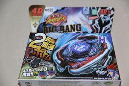 $enCountryForm.capitalKeyWord Canada - wholesale 3pcs Beyblade Metal Fusion 4D set Big Bang Pegasis F:D Beyblade BB-105 beyblade spin top toy M088 free shipping