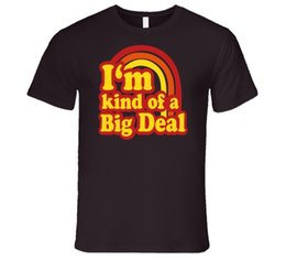 Wholesale I m kind of a big deal Anchorman Ron Burgundy T Shirt