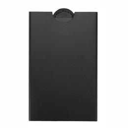 $enCountryForm.capitalKeyWord UK - Free shipping 2018 New women and men Drawing type Antitheft Card Holder Rfid Aluminium Credit Card Holder With Rfid Blockinng Mini