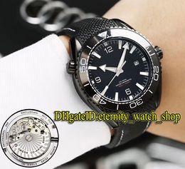 Discount blue planet watch - Planet Ocean 215.32.44.21.01.001 Black Date Dial Japan Miyota Automatic Mens Watch Black Case Ceramic Bezel Nylon Rubber