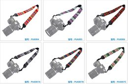 $enCountryForm.capitalKeyWord NZ - New Colorful Vintage Style Canvas Camera Shoulder Neck Strap Belt for Nikon Canon Sony DSLR Camera 17122601
