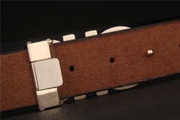 Belts Men Gold Australia - 2019 Design Belts Men and Women Fashion Belt Women Leather Belt Gold Silver and Black Buckle 02