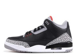 Chinese  TOP Factory Version Black Cement Grey Print Basketball Shoes Classic 2018 sneakers mens trainers With Box Michael Sports manufacturers