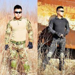 China Camouflage Tactical Camouflage Uniform US Army Uniform Multicam Hunting Set cheap multicam uniforms suppliers