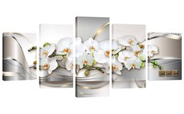 Shop white flower oil painting uk white flower oil painting free 6 photos white flower oil painting uk amosi art orchid flowers canvas print wall art painting abstract mightylinksfo