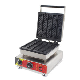 Hot dog maker macHine online shopping - BEIJAMEI products electric square waffle stove square hot dog stick cake machine commercial lolly waffle maker