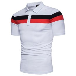 664e57c544f Men Shirt Cotton Men Summer Casual Patchwork Black White Short Sleeve Men s  Tops M-3XL