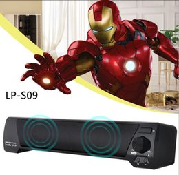 Remote sound caRd online shopping - LP Bluetooth Speaker TV Sound Bar Channel Bluetooth with Remote Control Speaker USB Stereo Speaker mm Aux TF Card LLFA