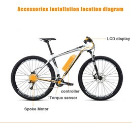 "$enCountryForm.capitalKeyWord Australia - 72V 3000W Electric Bicycle eBike Conversion Kits Motor Para Bicicleta 20"" 24"" 26"" 28"" Rear   Front Wheel"