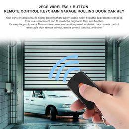 $enCountryForm.capitalKeyWord Australia - 10PCS Wireless 1 Button Remote Control Car Key with Keychain Electric Gate Garage Rolling Door Security Alarm Controller