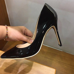 $enCountryForm.capitalKeyWord Canada - 2018 High Heels Shoes Women Patent Leather Shoes Sexy Pointed Toe Stiletto Women Wedding Shoes High Heels Women's Pumps